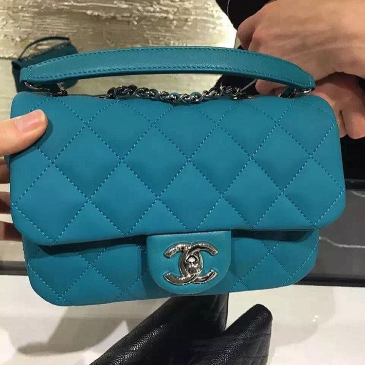 A Closer Look New Chanel Quilted Flap Bag Has Been
