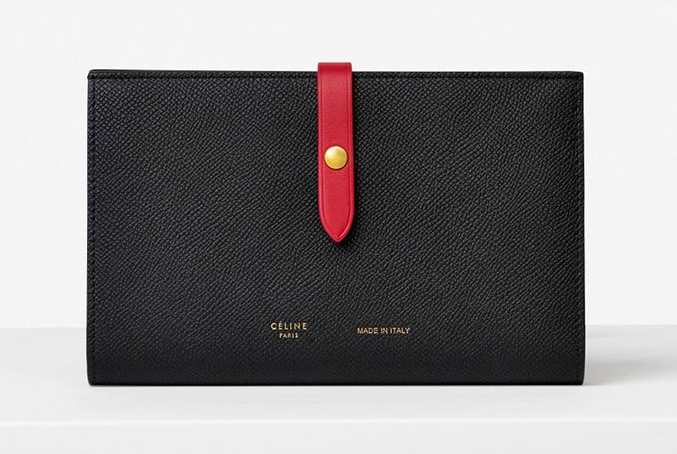 Celine Strap Medium Multifunction Wallet