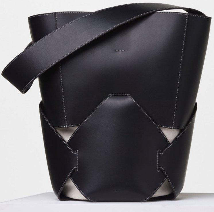 celine buckle-embellished handle bag