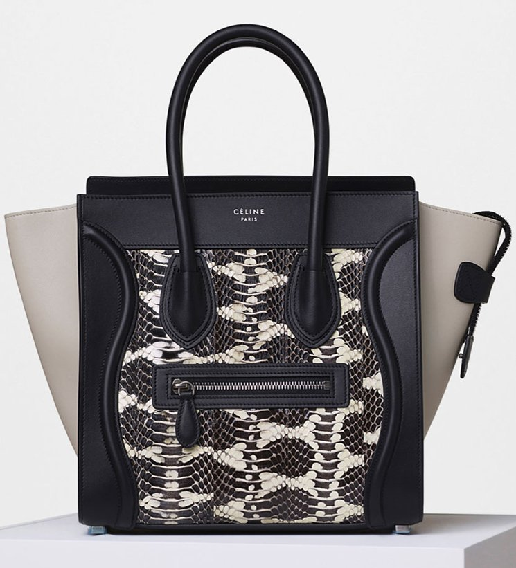 celine nano luggage tote price - Celine Summer 2016 Classic Bag Collection | Bragmybag