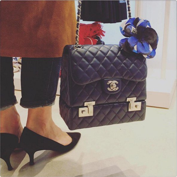 Chanel-Classic-Quilted-Luggage-Flap-Bag