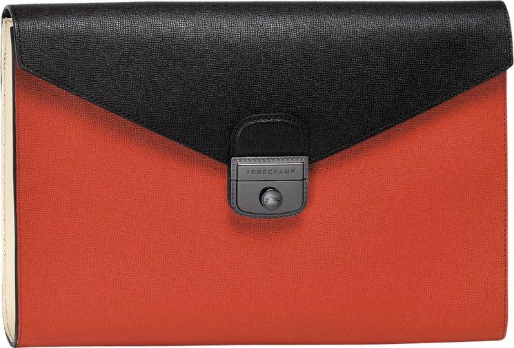 Longchamp Le Pliage Heritage Three-tone Clutch Bag | Bragmybag