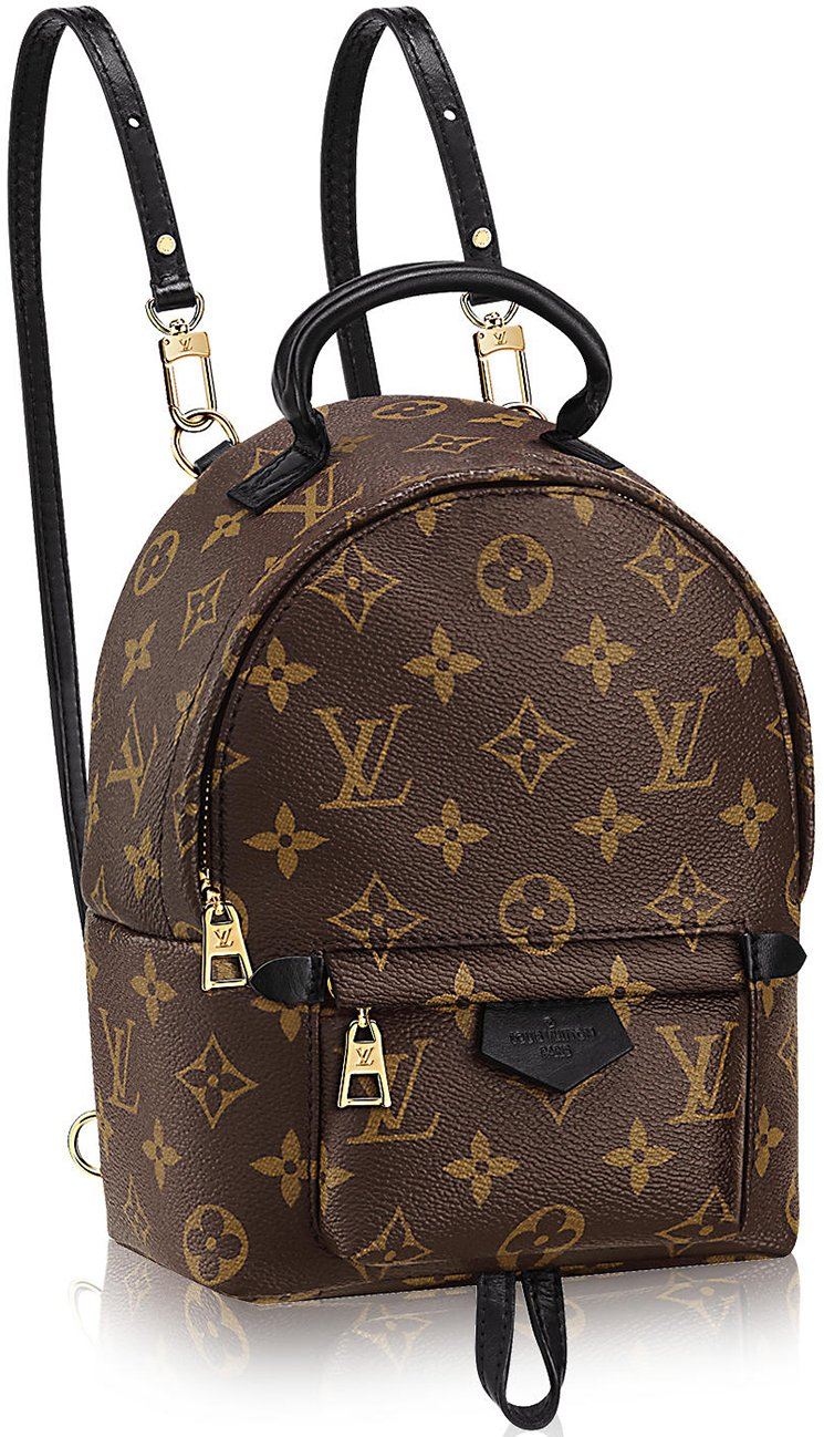 louis vuitton mini palm spring backpack bragmybag. Black Bedroom Furniture Sets. Home Design Ideas