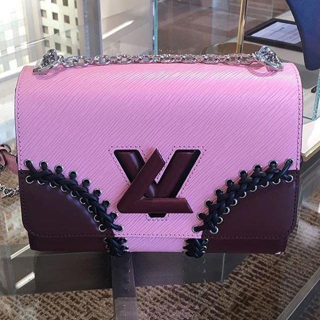 5dc0bd73e74f A Closer Look  Louis Vuitton Twist Stitched Epi Shoulder Bag