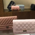 Chanel Diagonal Quilted WOC