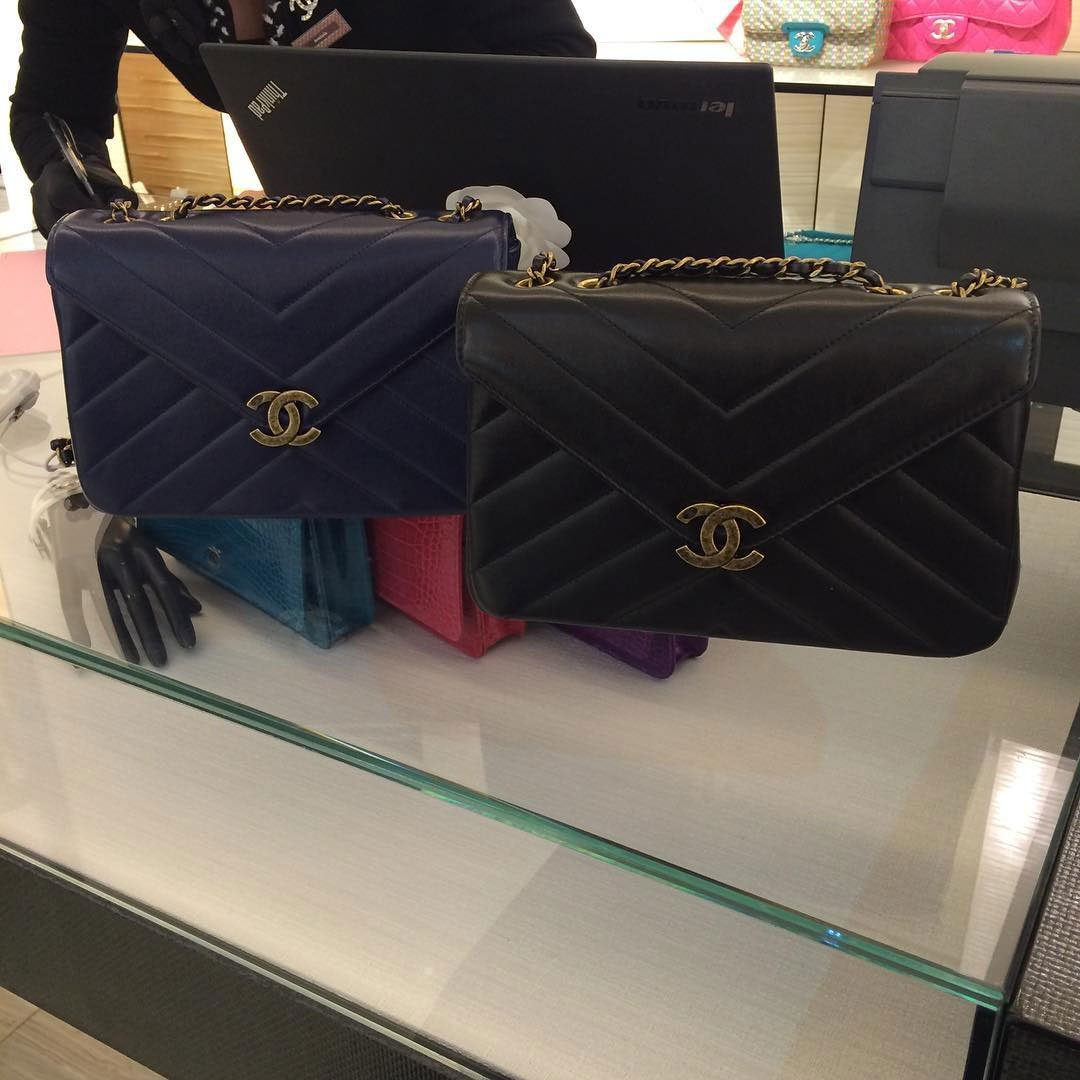 Chanel-Vintage-Chevron-Quilted-Flap-Bag