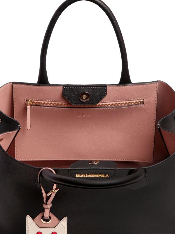 Karl-Lagerfeld-K-Saffiano-Choupette-Bag-4