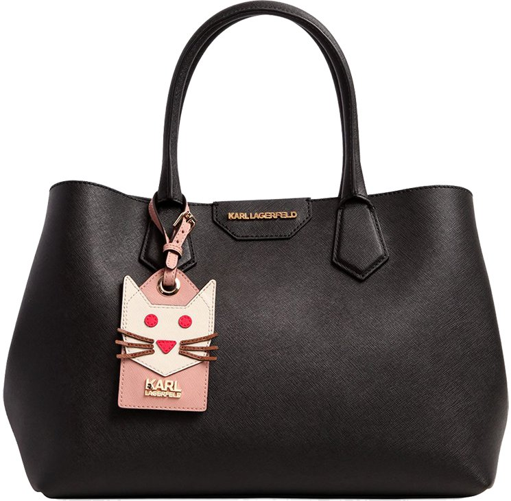 Saffiano effect leather bag Karl Lagerfeld 2018 Newest Sale Online lGBxSa