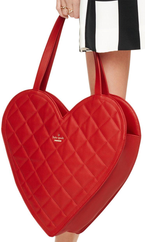 Kate Spade Secret Admirer Heart Bag | Bragmybag : kate spade red quilted bag - Adamdwight.com