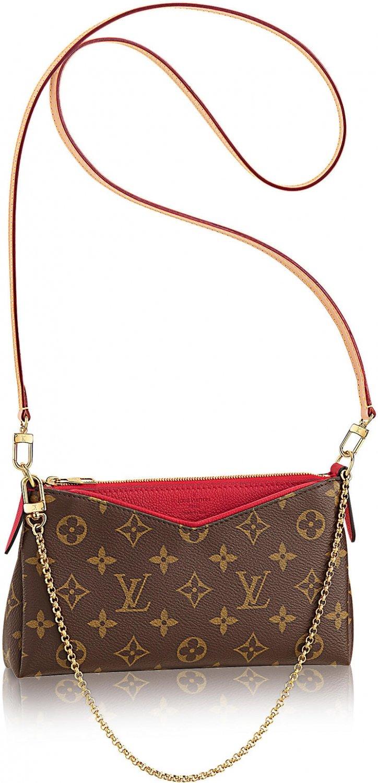 Louis Vuitton Pallas Clutch Bag
