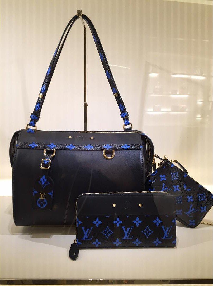 A-Closer-Look-Louis-Vuitton-Blue-Monogram-Canvas-Bag-Collection