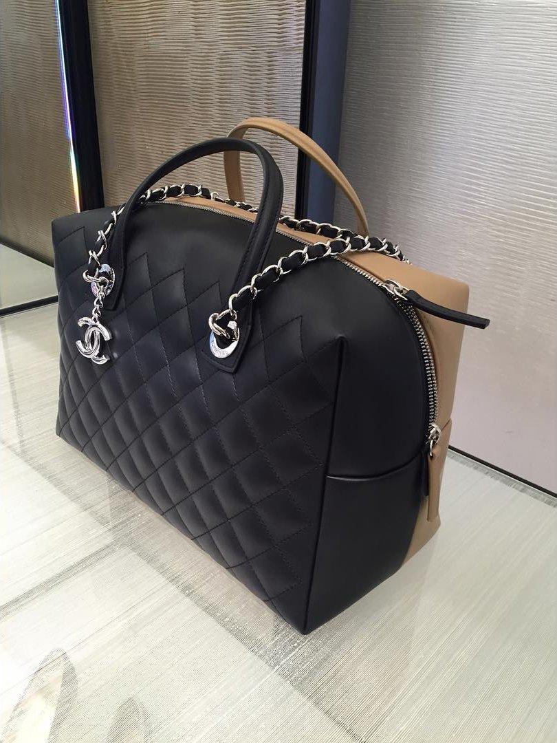 4df6a0e00597 Chanel Bi-Color Duffle Bag | Bragmybag