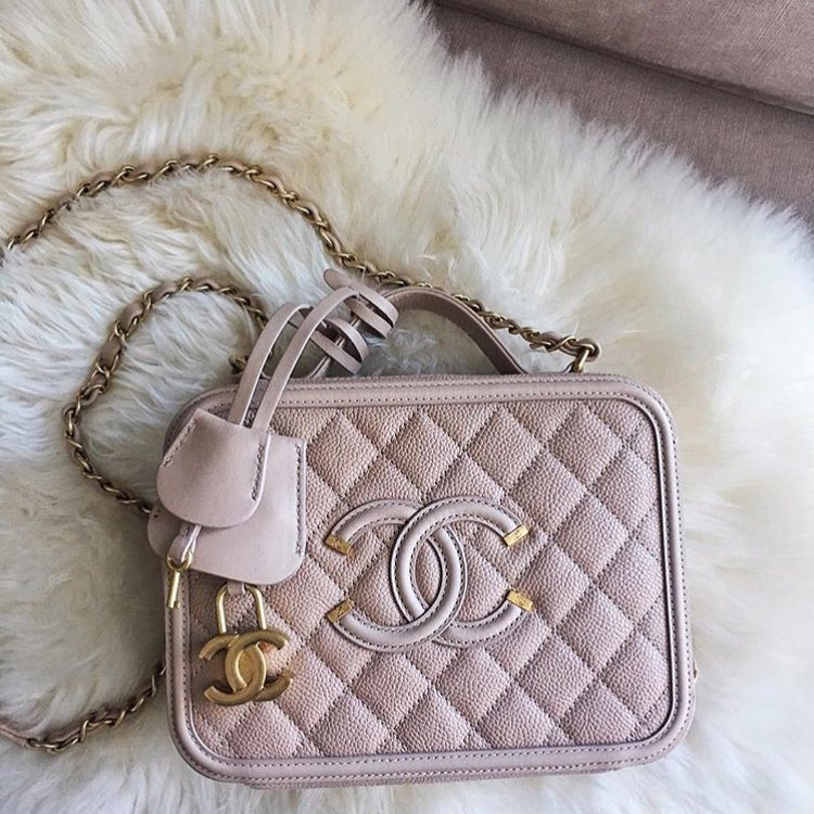Chanel-CC-Filigree-Vanity-Case-Bag-pink