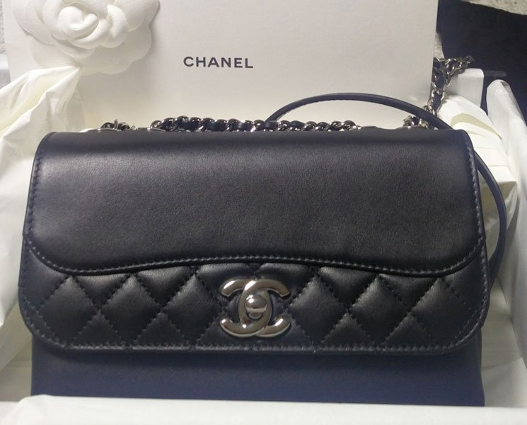 Shopping with Jenny  Chanel Smooth Leather Flap Bag – Bragmybag b3b90500310e4