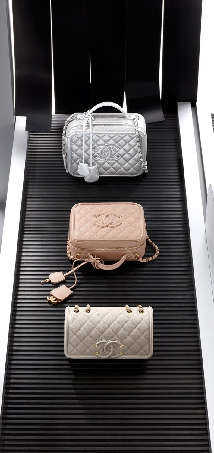 Chanel Cc Filigree Vanity Case Bag Bragmybag