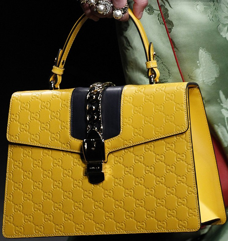 Gucci Purse Yellow