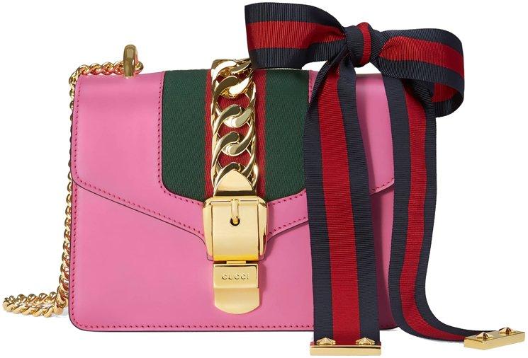 100c0b25f53 Gucci Sylvie Mini Chain Bag