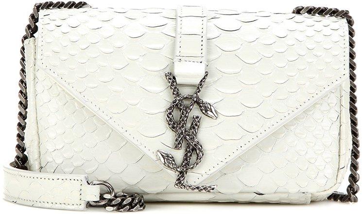 Saint-Laurent-Baby-Monogramme-Python-shoulder-bag