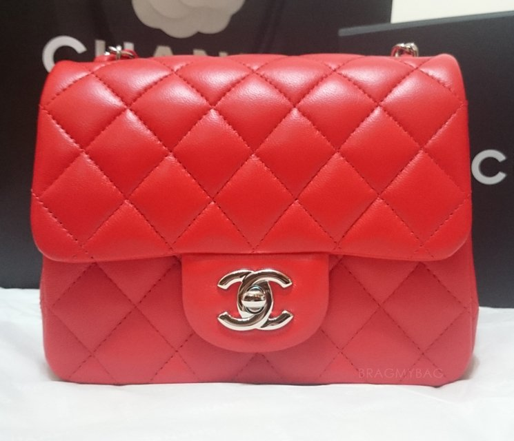 shopping with elizabeth my first chanel mini red classic