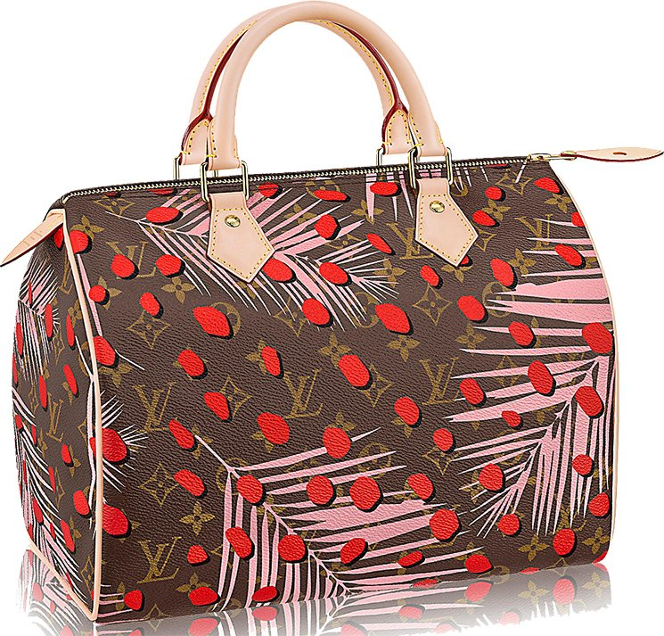 Louis-Vuitton-Monogram-Canvas-Jungle-Dots-Bag-Collection