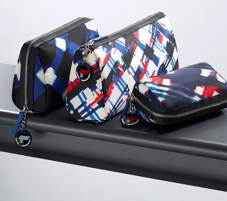Chanel-Multicolor-Canvas-Printed-Pouches-7