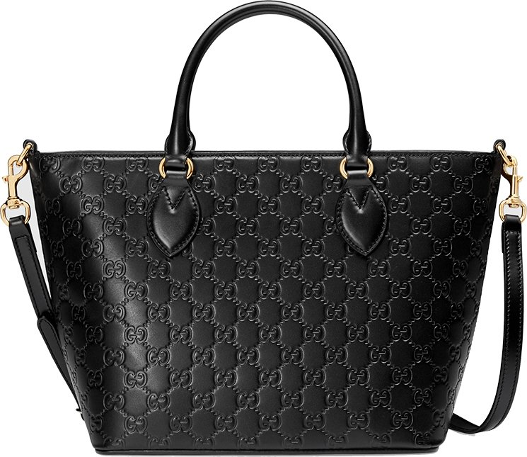 Gucci signature top handle bag bragmybag for Borse gucci outlet online