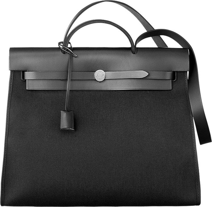 hermes herbag leather crossbody bag