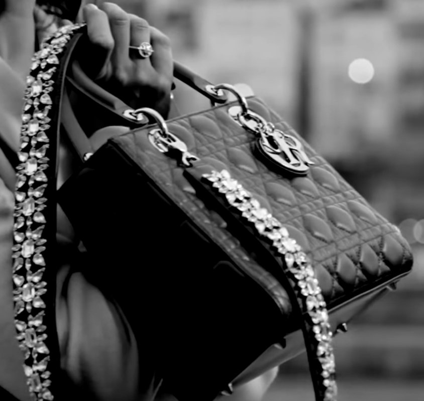 Lady-Dior-Bag-with-Crystal-Strap-6