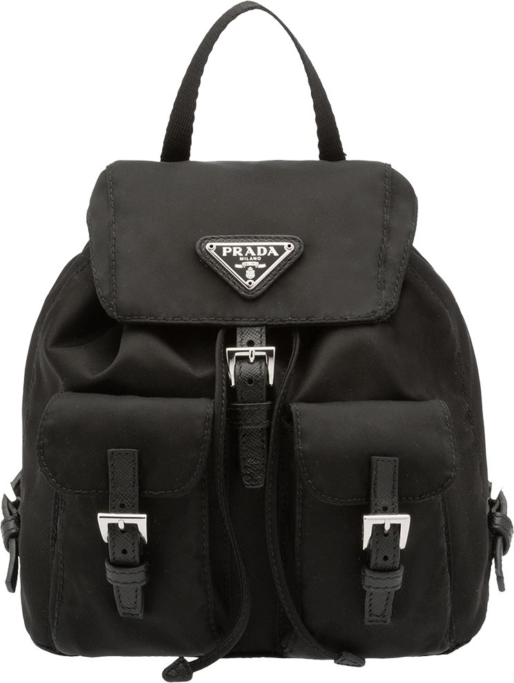 Prada Vela Mini Backpack