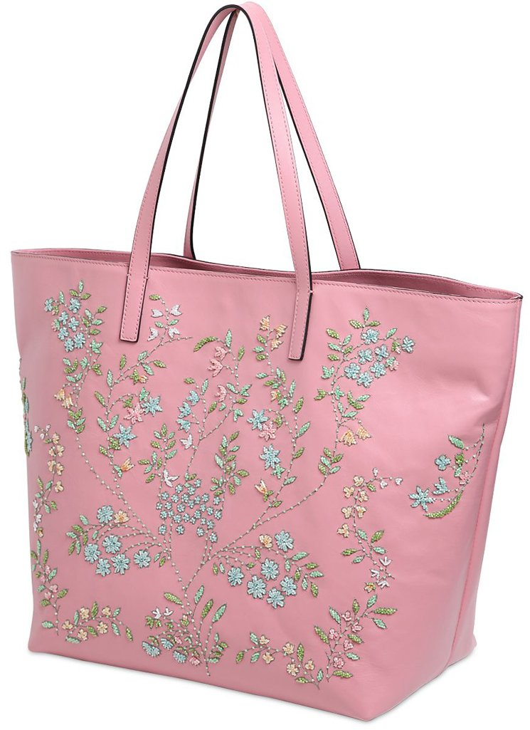 Red-Valentino-Flower-Leather-Tote-Bag