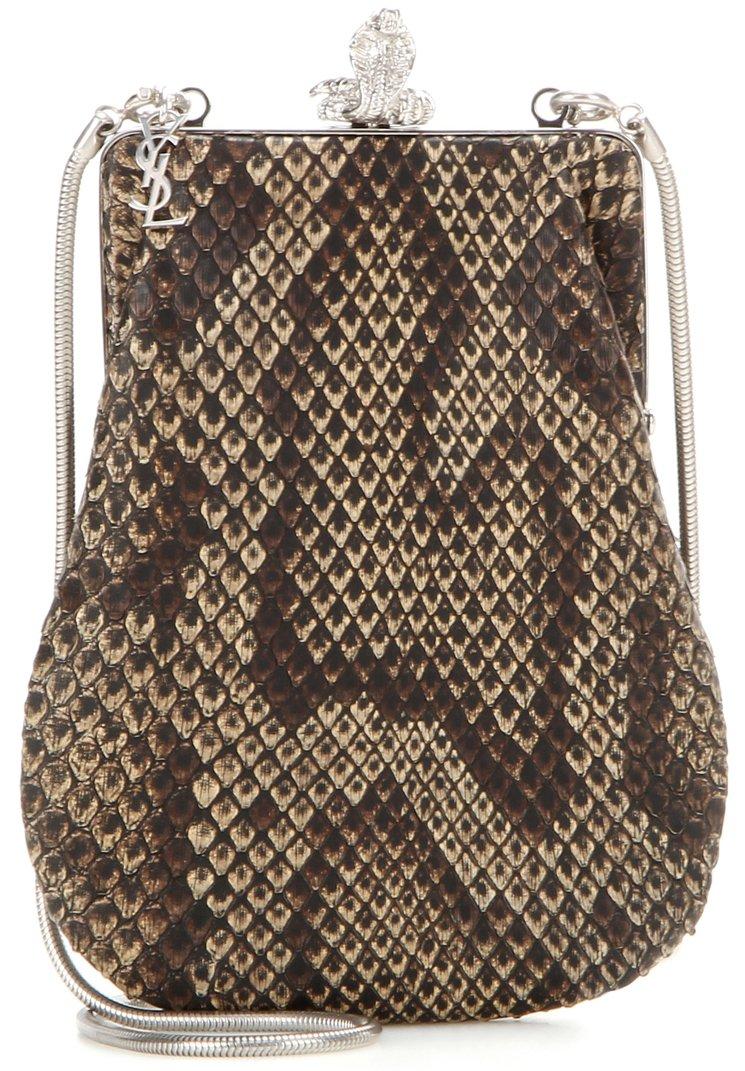 Saint-laurent-Serpent-Snakeskin-Shoulder-Bag