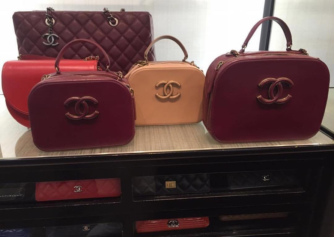 67266cf631fb A Closer Look  Chanel Coco Curve Vanity Case Bag – Bragmybag