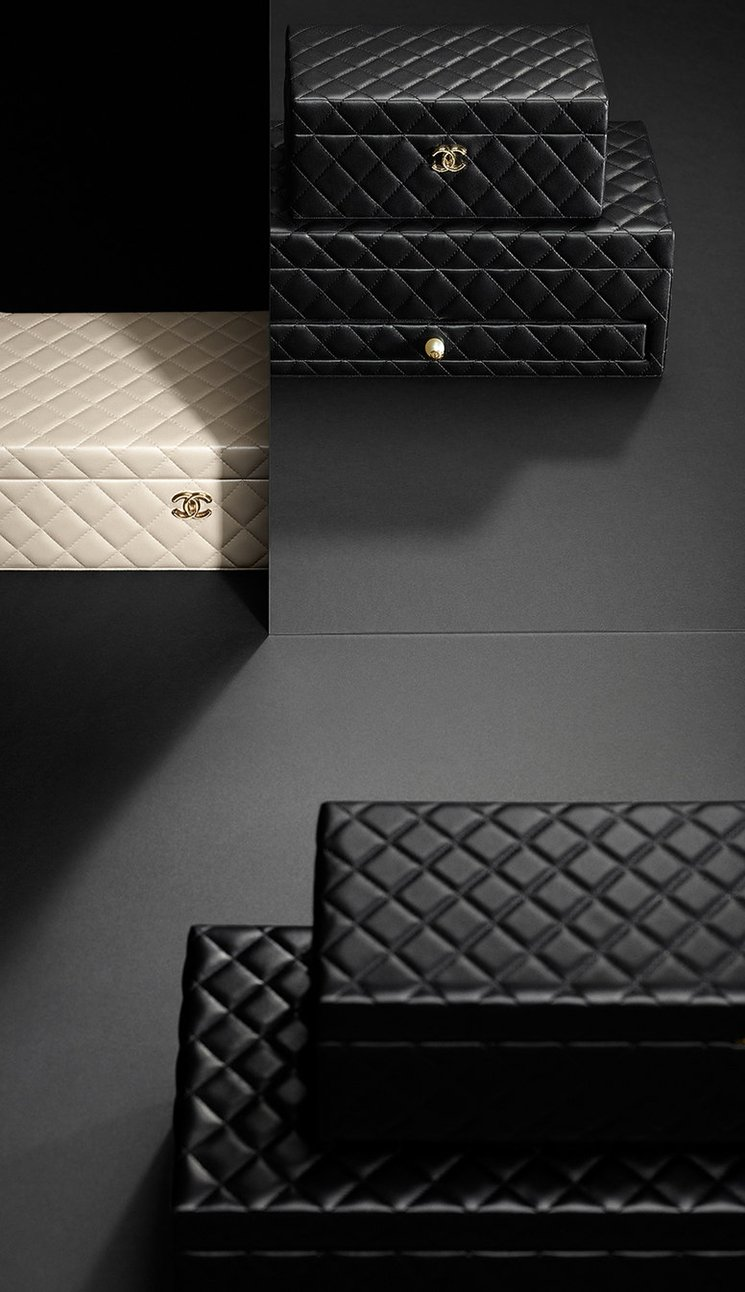 Chanel Quilted Jewelry Boxes Bragmybag