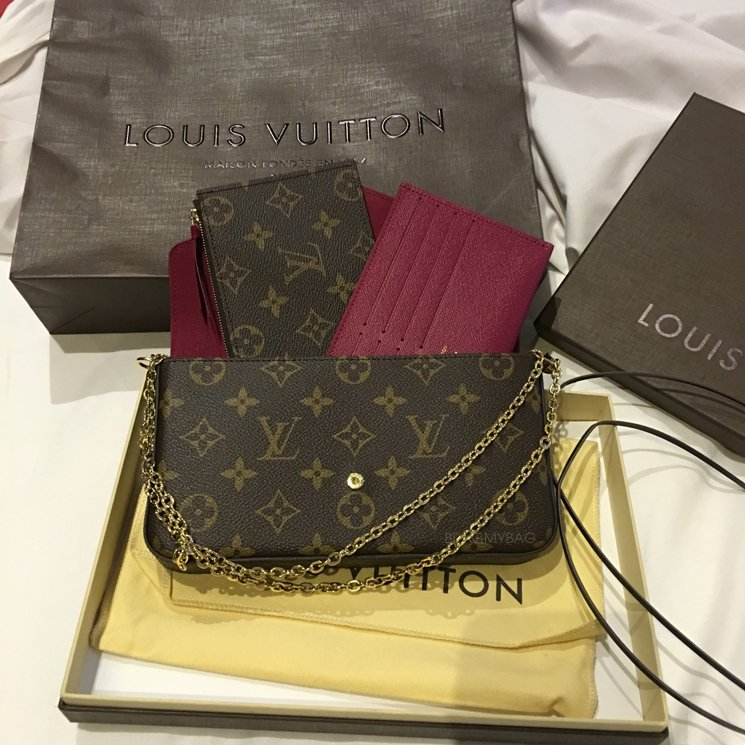 52e90103721c Shopping With Fev LSM  Louis Vuitton Pochette Felicie Bag