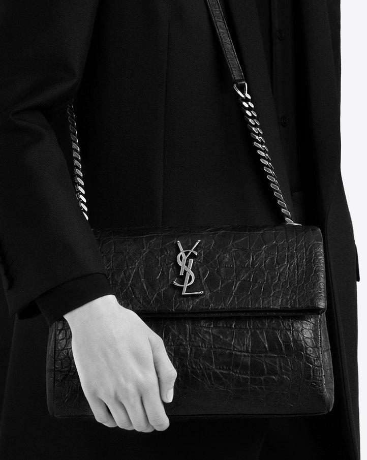 saint laurent monogram west hollywood bag