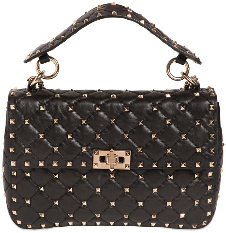 Huge Surprise Cheap Price 100% Guaranteed Sale Online Valentino Rockstud  quilted tote High Quality For 9767218ce0