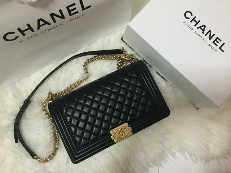 celine shoulder luggage tote - Shopping with Kate: Boy Chanel Quilted Flap Bags | Bragmybag