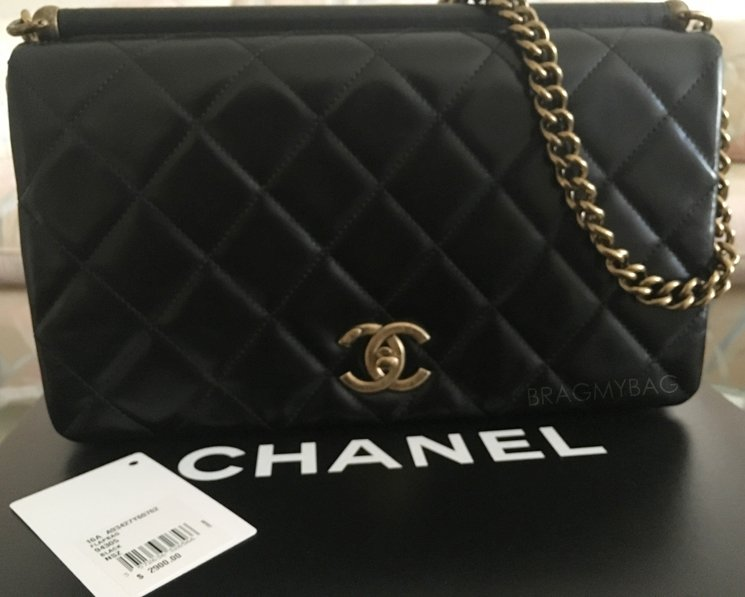 dc48cc79054 Shopping with V Lai: Chanel Paris in Rome Gold Metal Flap Bag ...