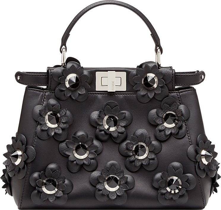 Fendi-Black-Flower-Capsule-Bag-Collection-2