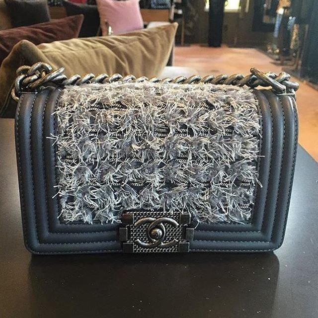 Closer Look  Boy Chanel Braided Flap Bag – Bragmybag 766a47da20831