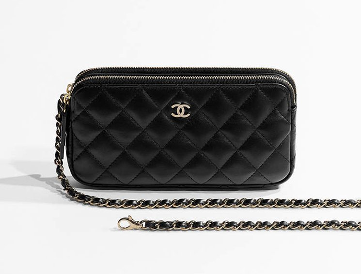 a425fd28d0ee Chanel Small Quilted Clutch With Chain | Bragmybag