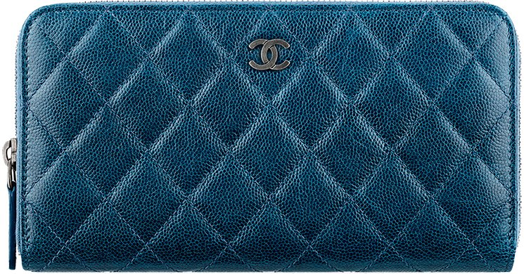 Chanel-Zip-Wallet-in-Washed-Grained-Calfskin