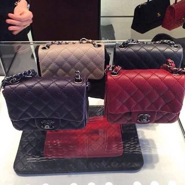 The Colors of The Chanel Mini Classic Flap Bag For This ...