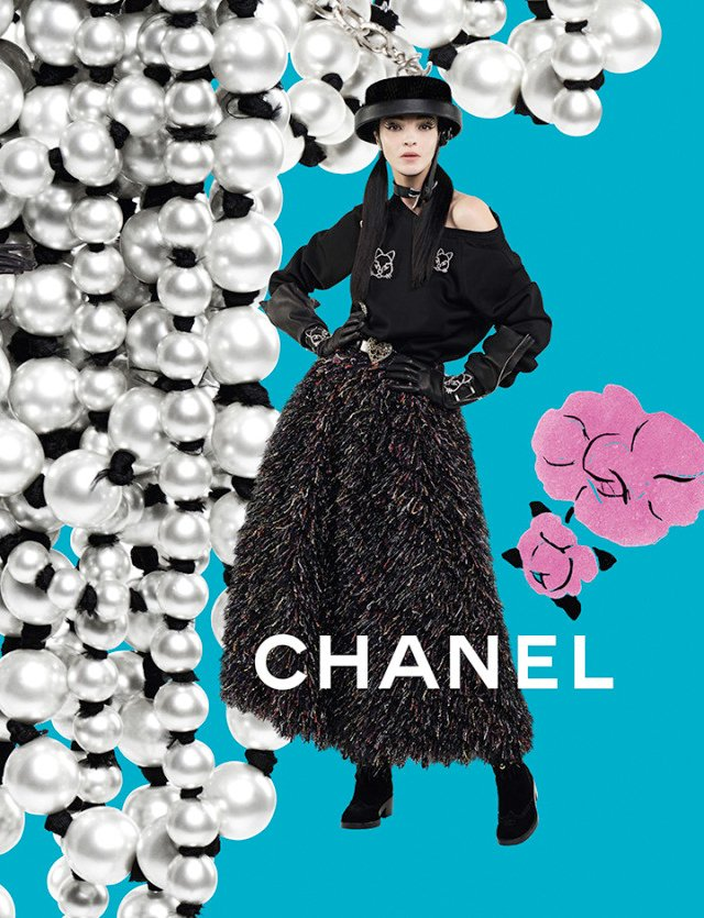 Chanel fall and winter ad