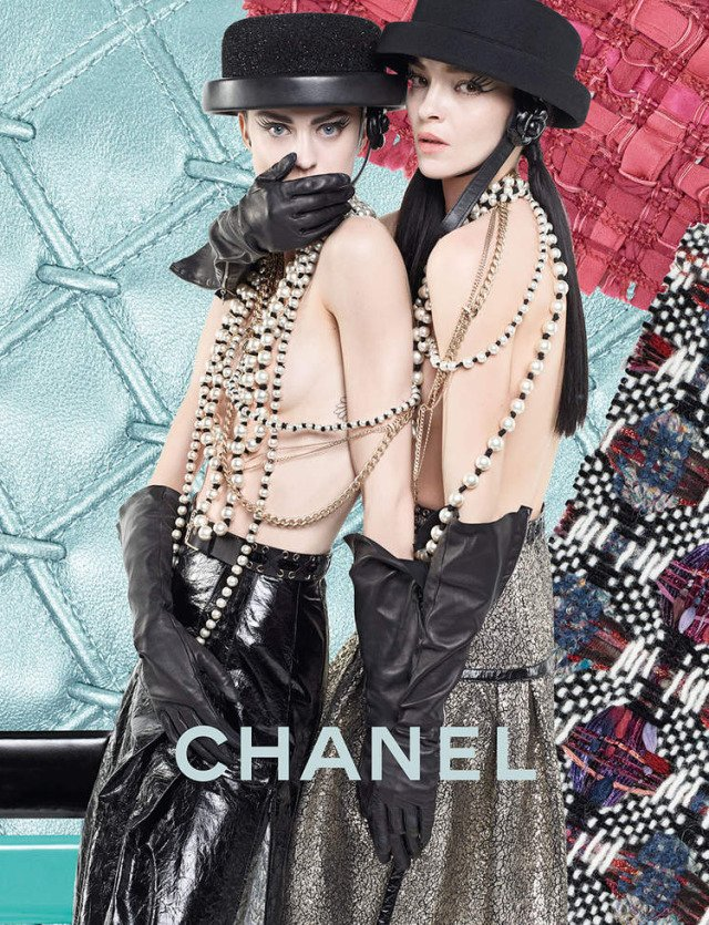 Chanel Fall Winter 2016 Ad Campaign Featuring The New ...