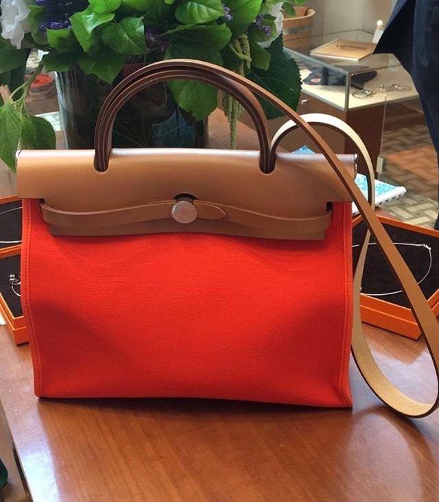143575d7e935 Another Look  Hermes Herbag Zip Bag