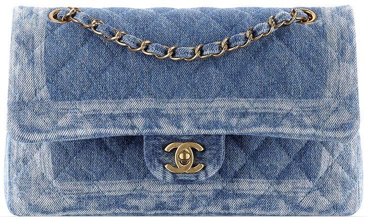 Chanel Denim Braided Classic Flap Bag 2