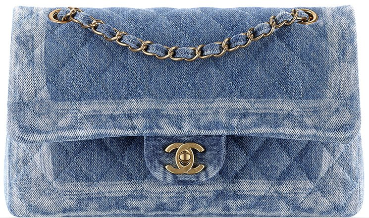 43c99e2b233c Chanel Denim Tweed Classic Flap Bag   Bragmybag