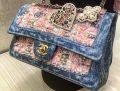 Chanel Denim Tweed Classic Flap Bag