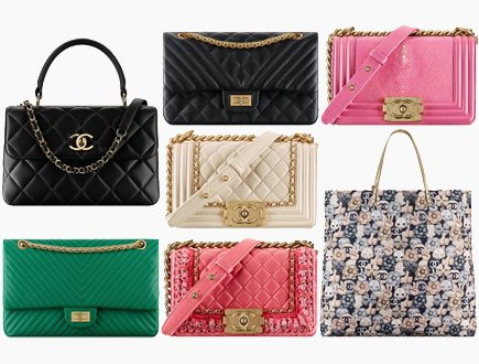 b682c0e5352fcd Chanel Fall Winter 2016 Classic And Boy Bag Collection Act 2
